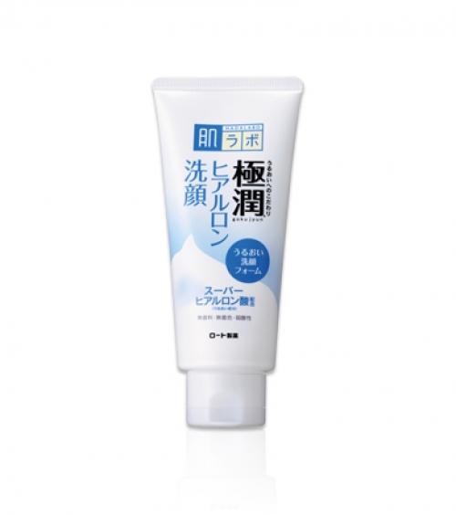 Гиалуроновая пенка для умывания HADA LABO Gokujyun Face Wash 100g