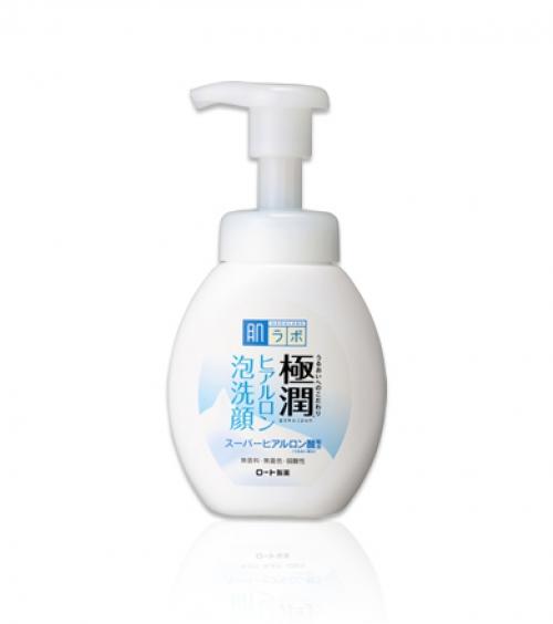 Гиалуроновая пенка для умывания HADA LABO Gokujyun Foaming Face Wash 160ml
