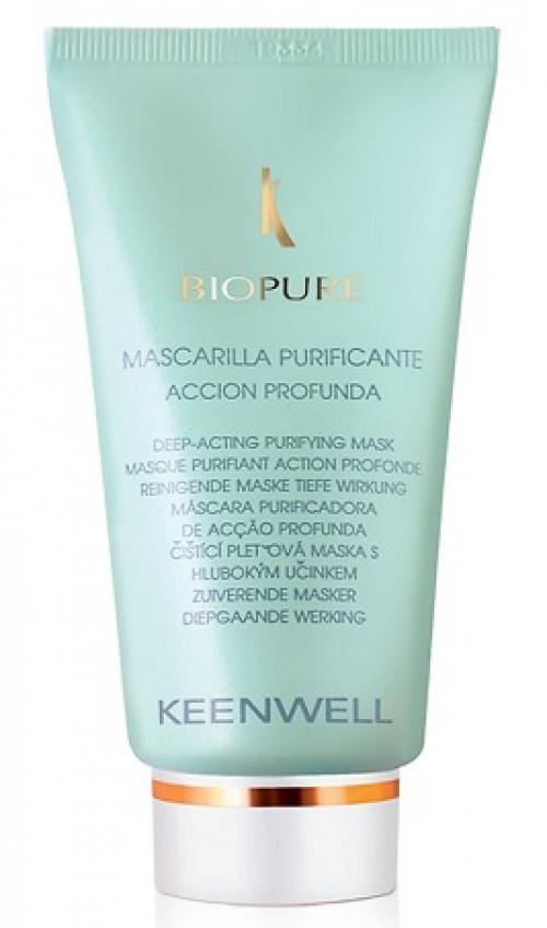 Keenwell Очищающая маска глубокого действия для жирной кожи, 60 мл