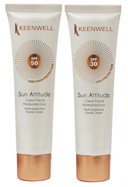 Мультиактивный солнцезащитный крем для лица SPF30, 60 мл