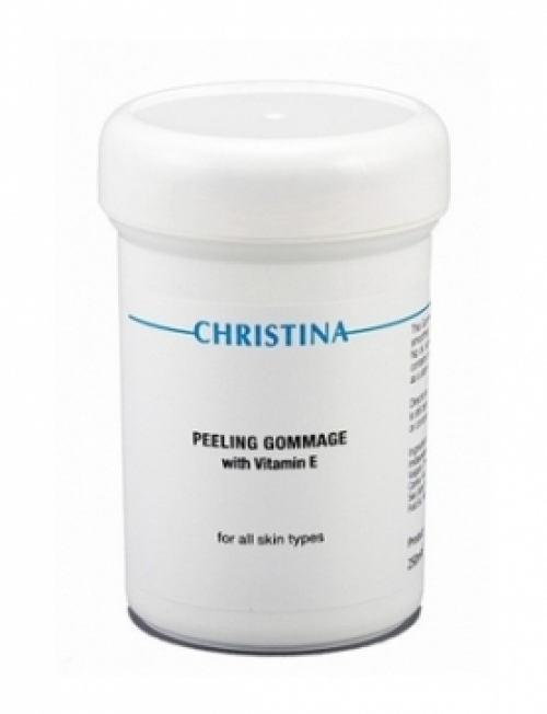 Christina Peeling Gommage with Vitamin E for All Skin Typies, 250ml
