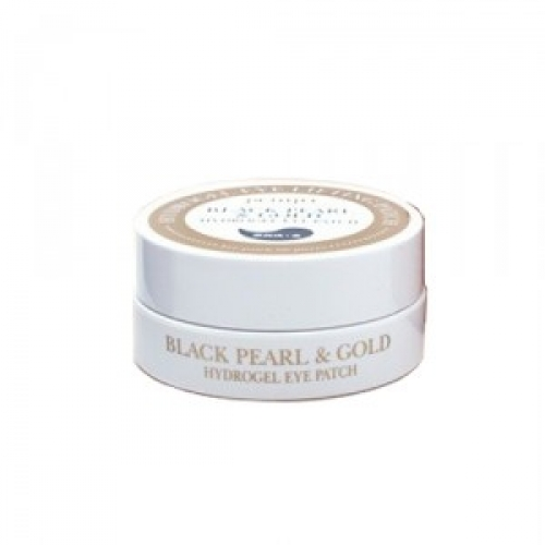 PETITFEE Black Pearl & Gold Hydrogel Eye Patch, 60 штук