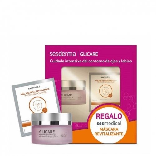 Набір GLICARE гель-контур + SESMEDICAL відновлююча маска