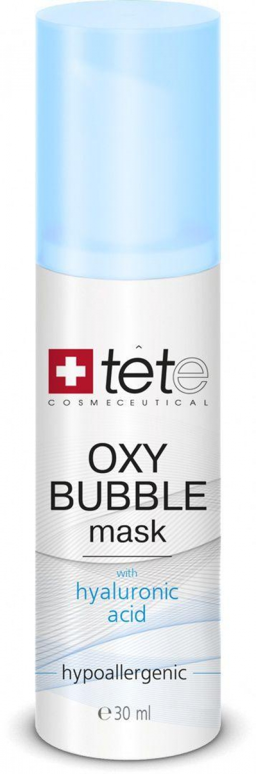 Кислородно-пенная маска OXY BUBBLE MASK Tete