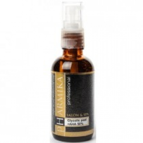 Гликолевый пилинг + АНА+ мультивитамины 50% / 50 мл - Pharmika