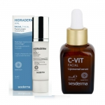 Набір HIDRADERM HYAL крем для обличчя + C-VIT ліпосомальна сироватка