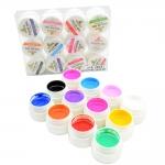 Набор цветных гелей, 12шт