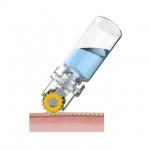 Мезотерапия HYDRA Roller (гидра роллер) с апликатором и титановыми позолоченными 64 иглами
