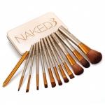 Набор кистей для макияжа Maked3 12 шт